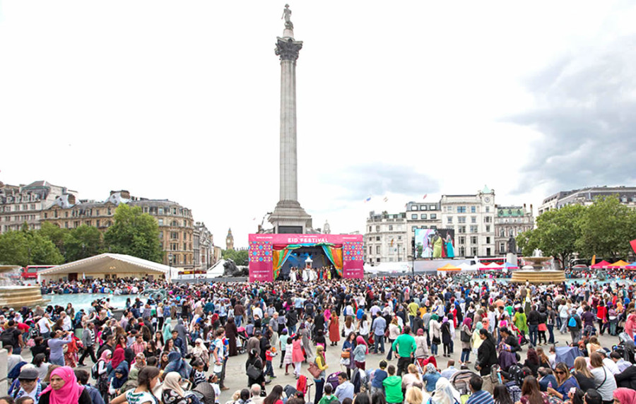Join HS&Co at this year's Eid in the Square in London