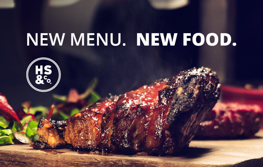 HS&Co Launches Exciting New Menus