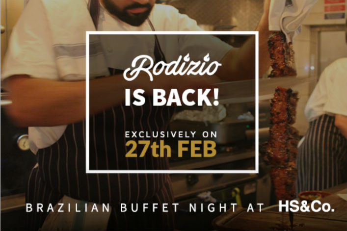 The Rodizio is BACK! Warm up this February with a night of Brazilian fiery feasting
